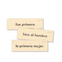 Lectura 1-B Tarjetas de Frases