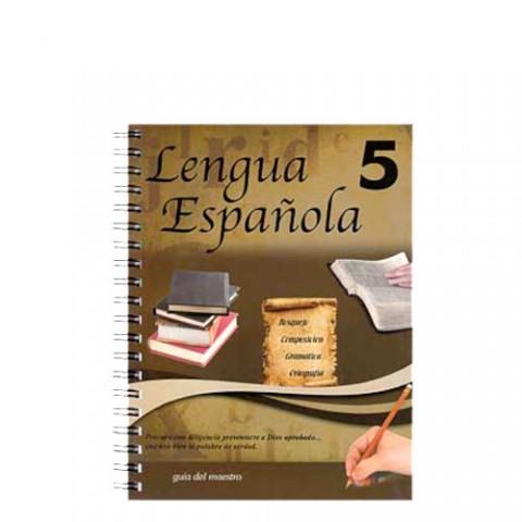 Lenguaje 5 Guía del Maestro