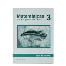 Matemáticas 3 Texto del Alumno