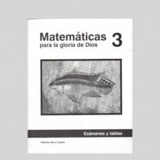 Matemáticas 3 Libreta de Exámenes