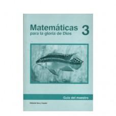 Matemáticas 3 Guía del Maestro