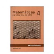 Matemáticas 4 Texto del Alumno