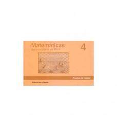 Matemáticas 4 Pruebas de Rapidéz