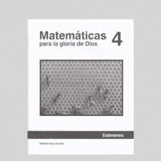 Matemáticas 4 Libreta de Exámenes