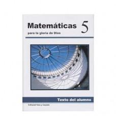 Matemáticas 5 Texto del Alumno