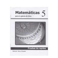 Matemáticas 5 Pruebas de Rápidez