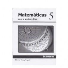 Matemáticas 5 Libreta de Exámenes