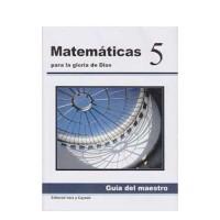 Matemáticas 5 Guía de maestro