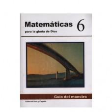Matemáticas 6 Guía del Maestro