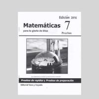 Matemáticas 7 – Pruebas de Rapidez