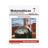 Matemáticas 7 – Guía del Maestro