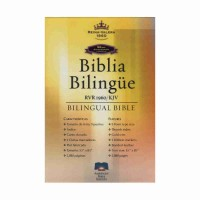 Biblia bilingüe (inglés/español)