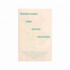 Instrucciones para nuevos cristianos